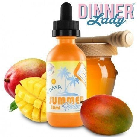 Líquido Dinner Lady - SUMMER HOLIDAYS - Sun Tan Mango