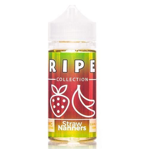 Líquido Salt nicotine RIPE - Straw Nanners ICE