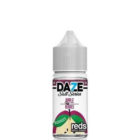 Líquido 7 Daze Reds Apple E-juice Salt - Apple Berries
