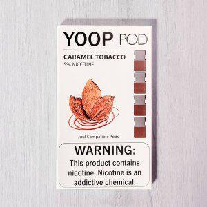Yoop Pods Caramel Tobacco - Compatíveis com Juul - Yoop Vapor