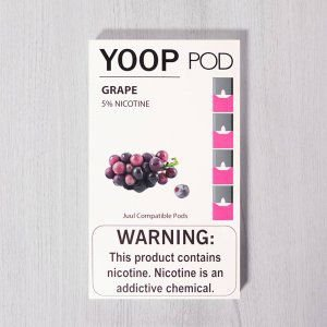 Yoop Pods Grape - Compatíveis com Juul - Yoop Vapor