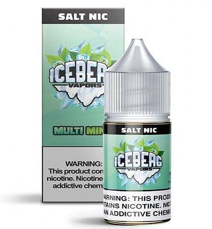 Líquido Nic Salt Multi Mint - Iceberg Vapors