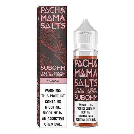Líquido PachaMama - Subohm - Apple Tobacco