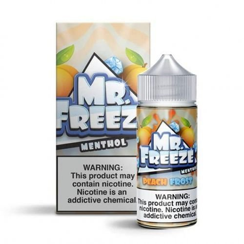 Líquido Mr. Freeze - Peach Frost