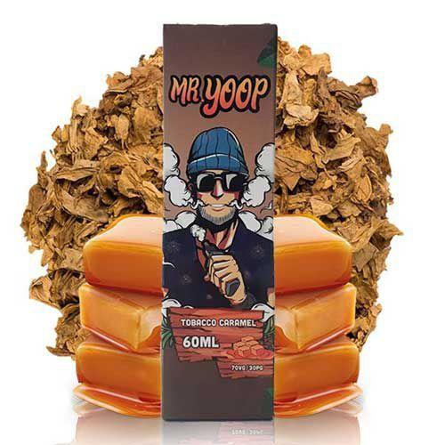 Líquido Yoop Vapor - Mr. Yoop - Tobacco Caramel
