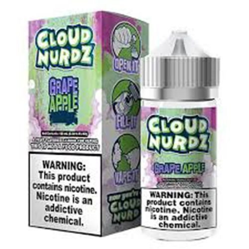 Líquido Cloud Nurdz - Grape Apple Iced