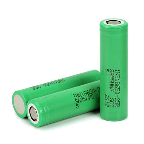 Bateria 18650 25R 3.6V 2500 mAh -  Samsung