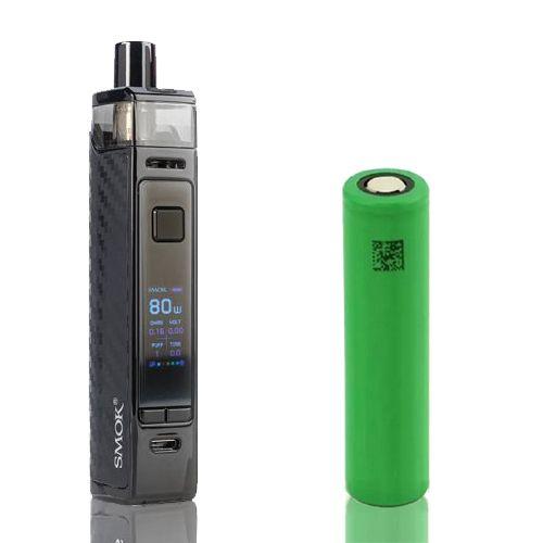 Combo Kit Pod RPM 80 Pro Com Bateria 18650- Smok
