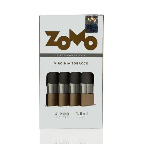 Pod Zomo Compatível Com Z.Pod - Virginia Tobacco