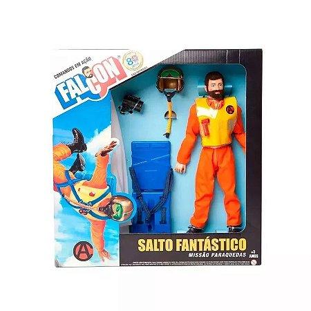 Boneco De Ação - 30 Cm - Falcon - Salto Fantástico