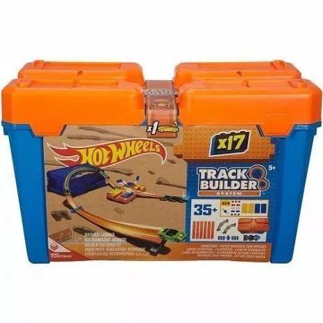 Hot Wheels Track Builder Caixa De Manobra - Mattel