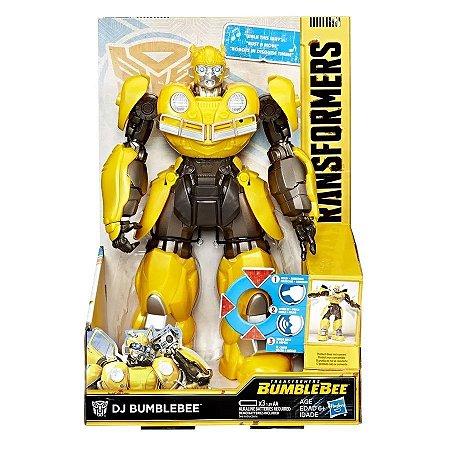 Transformers Boneco Dj Bumblebee E0850