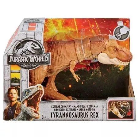 Boneco Articulado Jurassic World T Rex Mega Mordida - Ftt21