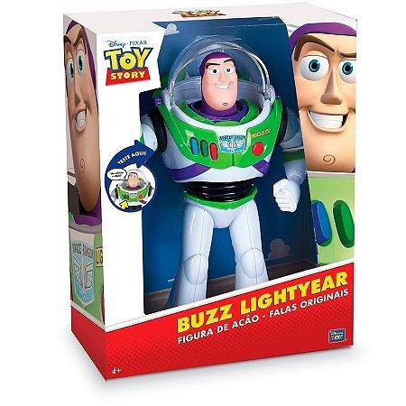 Boneco TOY STORY BUZZ Lightyear Power UP Falante TOYNG