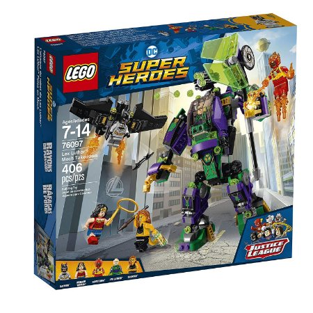 LEGO ROBÔ DO LEX LUTHOR 76097