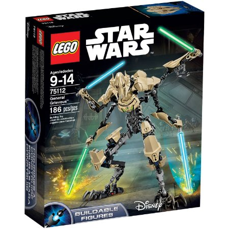 LEGO STAR WARS - GENERAL GREVIOUS - 75112