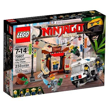 Perseguição na Cidade - LEGO Ninjago Movie 70607