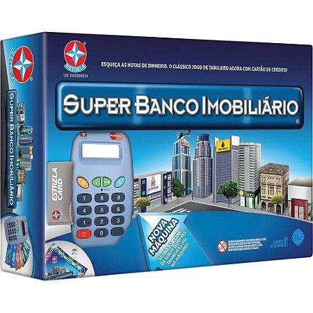 JOGO SUPER BANCO IMOBILIÁRIO COM MÁQUNA - 1X1 - ESTRELA