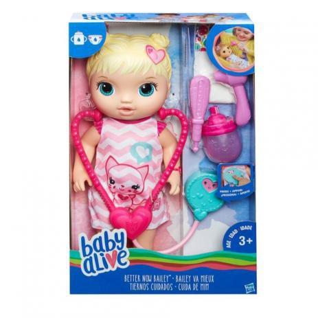 BABY ALIVE - CUIDA DE MIM LOIRA - C2691