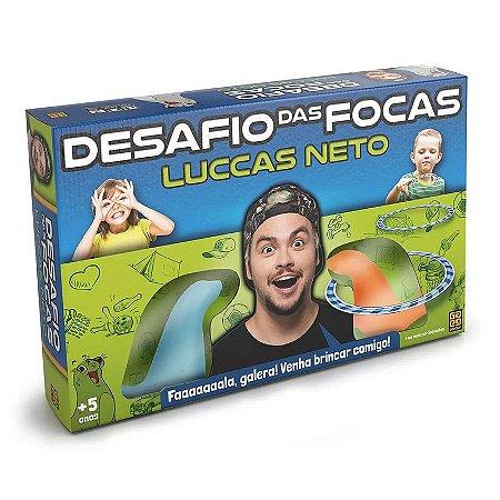 DESAFIO DAS FOCAS - LUCCAS NETO