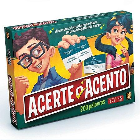 JOGO ACERTE O ACENTO - GROW