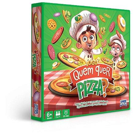 Jogo Quem Quer Pizza? - Toyster