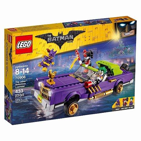 LEGO - THE BATMAN MOVIE - O EXTRAVAGANTE LOWRIDER DO CORINGA - 70906