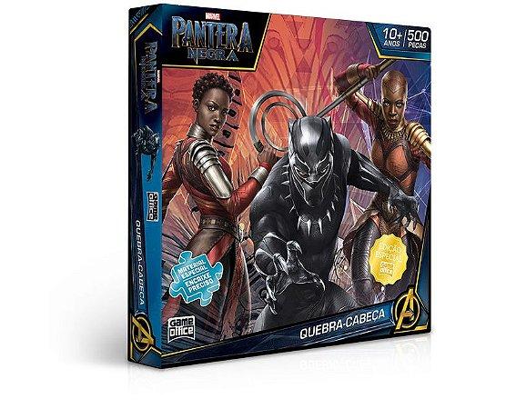 Pantera Negra – Quebra-Cabeça 500 Peças