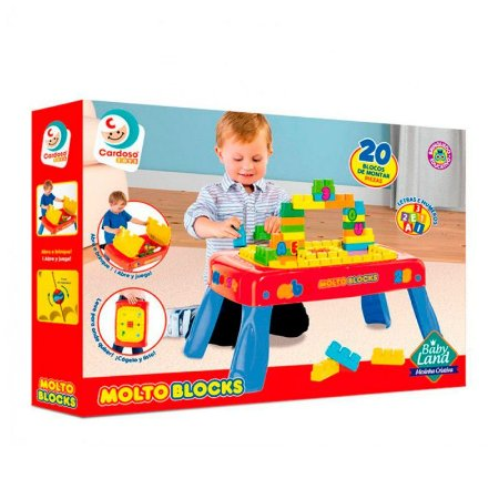 MOLTO BLOCKS - BABY LAND - MESINHA CRIATIVA - 8003
