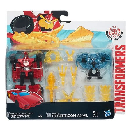 BONECO TRANSFORMERS - ROBOTS IN DISGUISE - MINICONS BATTLE - SIDESWIPE - HASBRO