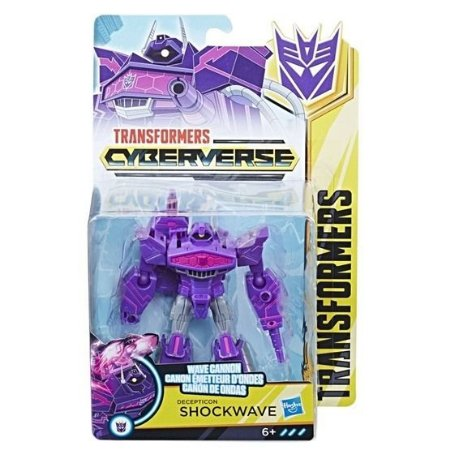 BONECO TRANSFORMERS CYBERVERSE - SHOCKWAVE - E1884 - HASBRO