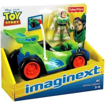 IMAGINEXT - RC & BUZZ LIGHTYEAR - TOY STORY - FISHER PRICE