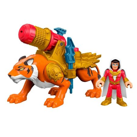 IMAGINEXT - DC - SHAZAM E TIGRE - FISHER PRICE