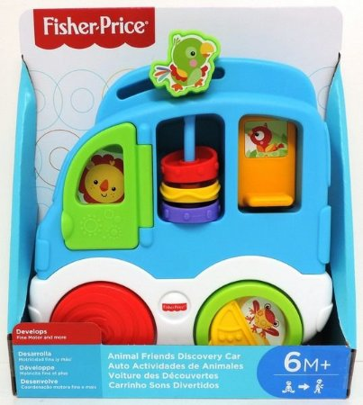 CARRINHO SONS DIVERTIDOS - CMV95 - FISHER PRICE