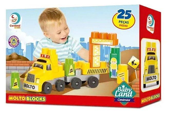 MOLTO BLOCKS - BABY LAND CONSTRUTOR - 8008 - MOLTO BLOCKS