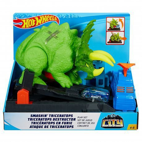 Hot Wheels - Ataque Do Triceratops - Mattel