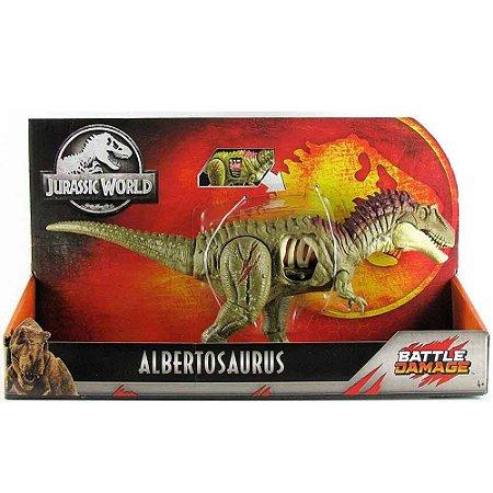 ALBERTOSAURUS - JURASSIC WORLD - MATTEL