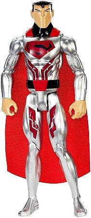 Superman Armadura De Aço - Liga Da Justiça - Mattel