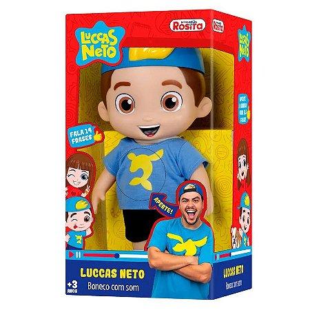 1070 - Boneco com Som Luccas Neto - Novabrink