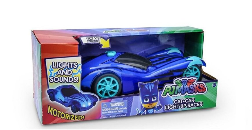 Carro Luminoso - Felinomóvel  - PJ Masks - DTC