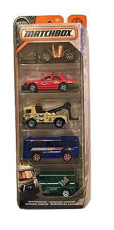 Matchbox Carros Básicos - DWR81 - MATTEL