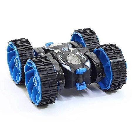 Carrinho de Controle Remoto - Turbo Ciclone Azul - DTC
