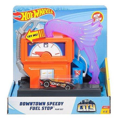 Hot Wheels - Posto de Gasolina - Mattel