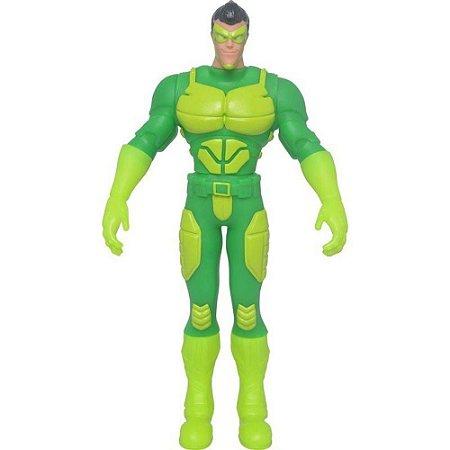 Boneco Vigilante Verde Vinil 54cm - Mielle