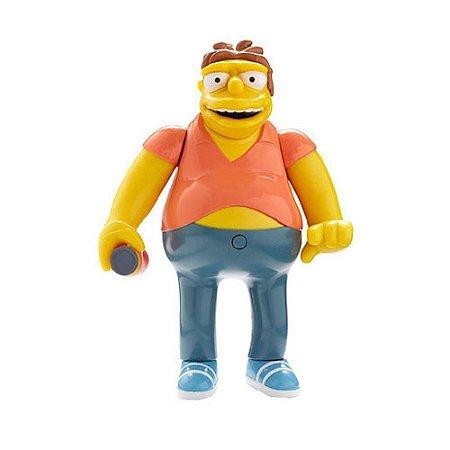 Boneco Barney Gumble 15cm com som - Os Simpsons - Multikids