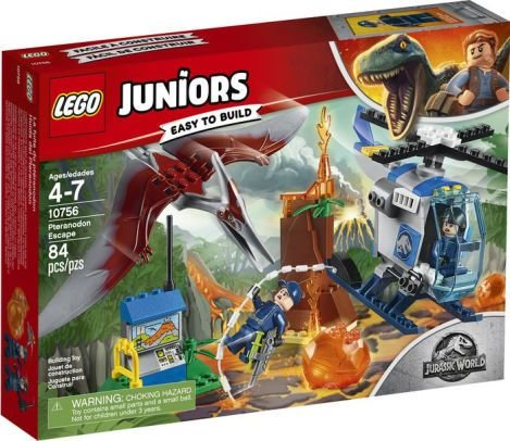 LEGO Juniors - Jurassic World -  Fuga de Pteranodonte