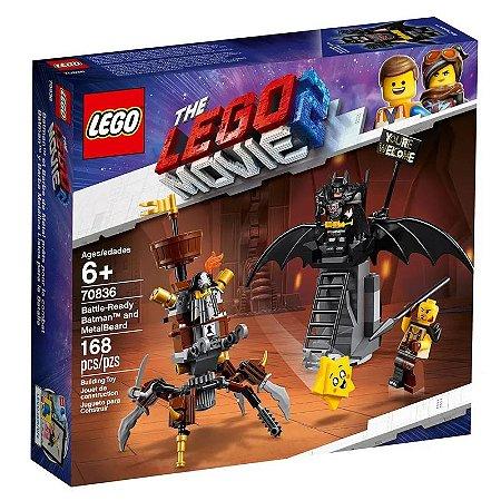 LEGO Movie - O Filme 2 - DC Comics - Batman Vs Barba de Ferro
