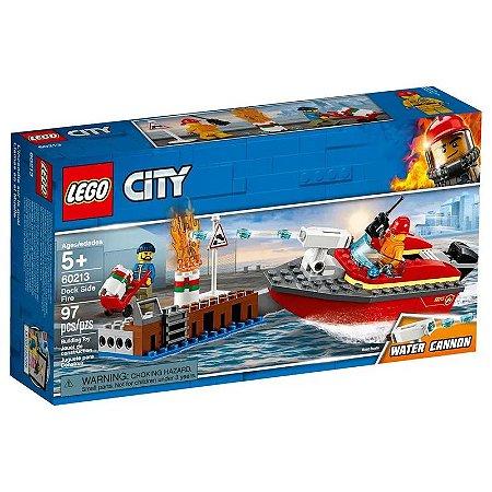 LEGO City - Incêndio na Doca