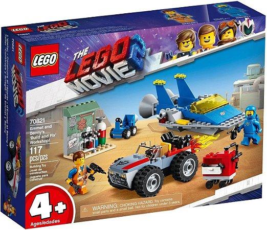 LEGO Movie - Oficina de Construção e Conserto do Emmet e Benny
