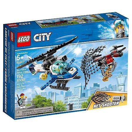 LEGO City - Patrulha Aérea com Drone Lançador